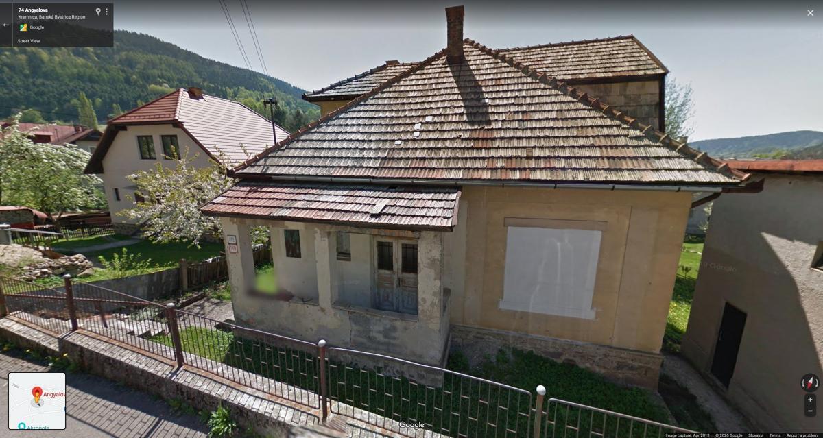 Vila z 30. rokov 20. storočia na Angyalovej ulici č. 472/149
